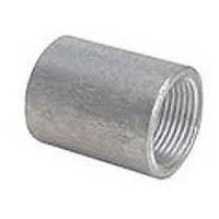 1/2 inch NPT galvanized merchant full couplings
