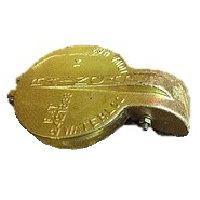 exhaust flapper Brass 3-1/4