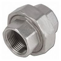 ¾ inch NPT 304 Stainless Steel Union