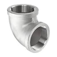 ¾ inch NPT threaded 90 deg 304 Stainless Steel elbow