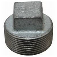 3 ½ inch NPT malleable iron square head plug
