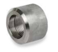 Picture of 1 1/4 inch class 3000 forged 304 Stainless Steel Half Couplings