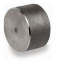 Picture of ⅜ inch forged carbon steel socket weld cap