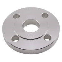 Picture of 1-1/2 x 1 inch class 150 carbon steel slip on reducing flange