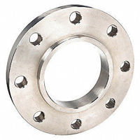 Picture of 4 x 3 inch class 150 carbon steel slip on reducing flange