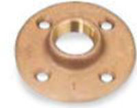 Picture of 1/2 inch NPT Class 150 Bronze Floor Flange