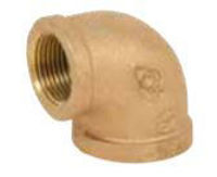 class 125 bronze 90 degree elbow