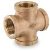 Picture of ¼ inch NPT threaded bronze crosses