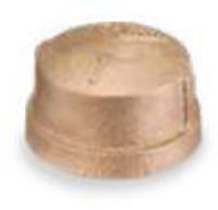 Picture of ¼ inch NPT threaded lead free bronze cap